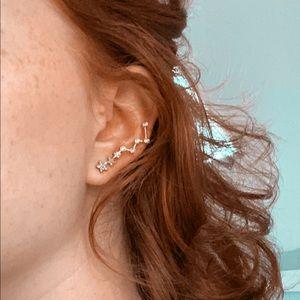 Gold Celestial Ear-Climbers✨